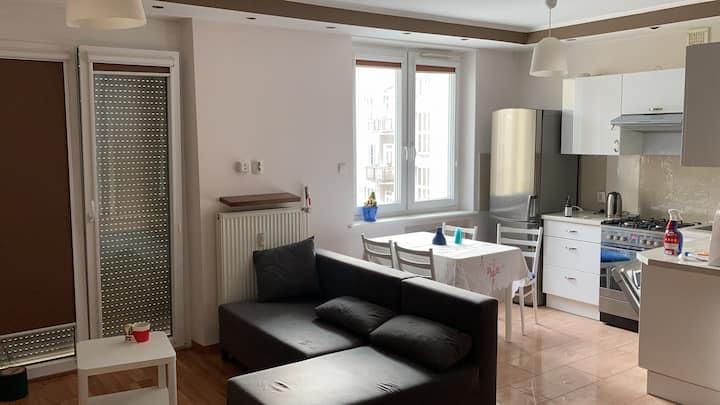 Przestrzenne mieszkanie w sercu Gdyni