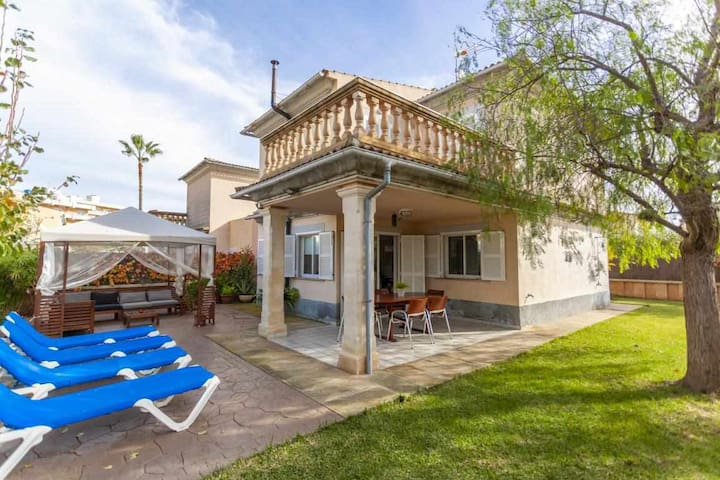 Goleta - nice chalet for 5 people a few meters from Playa de Muro
