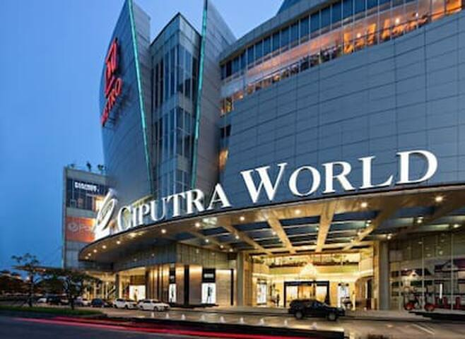 Ciputra World Mall Entrance