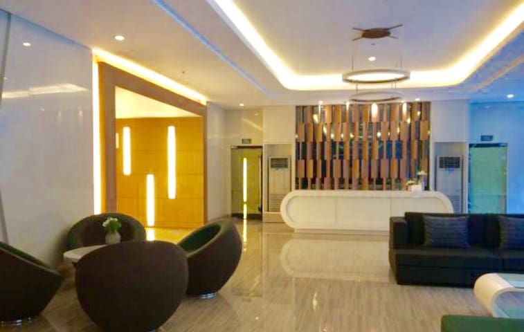 The Lobby (1st floor) of SMDC Green Residences