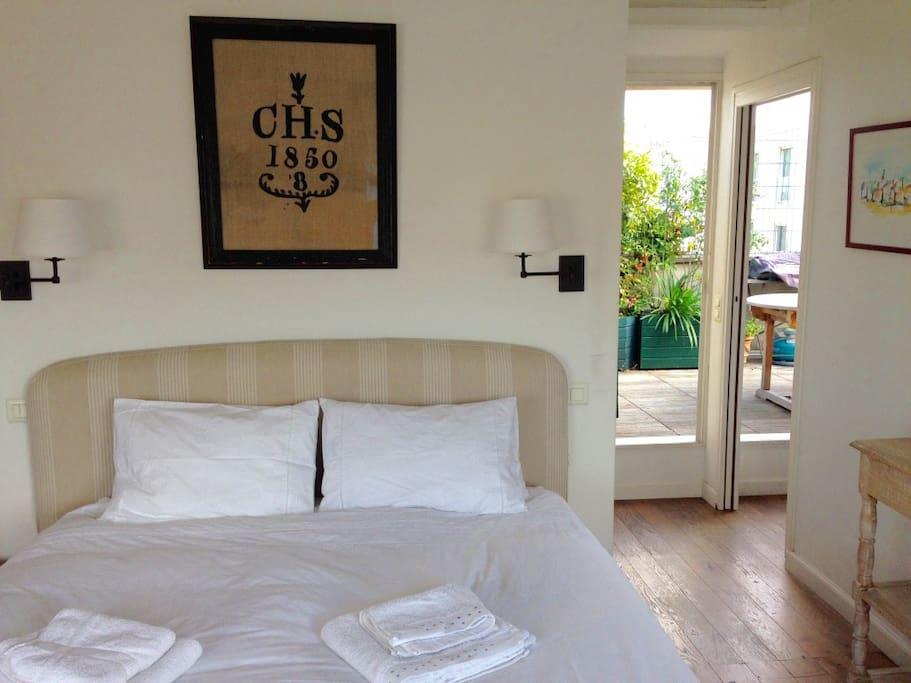Suite Honeymoon avec salle de bain/wc privative