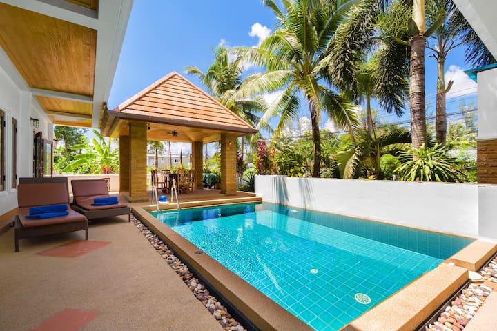 Spacious 3 bed Villa, Bangtao beach nr Catch Club