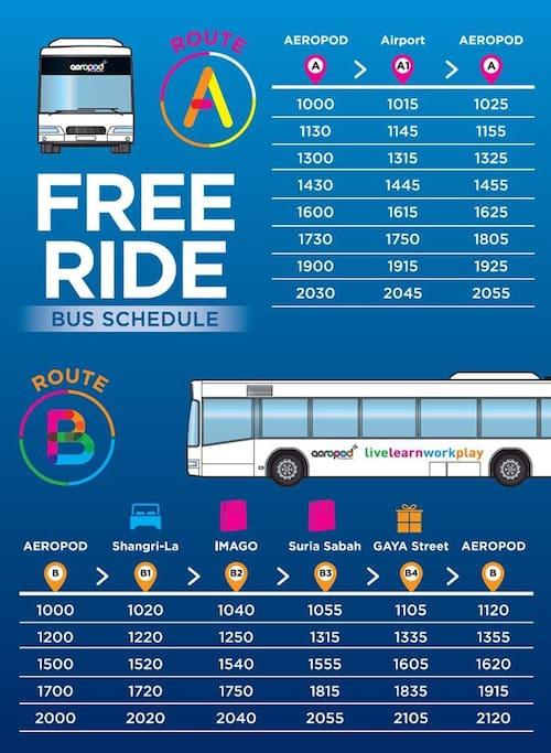 #城市巴士行程表,方便多了!# #SHUTTLE BUS SCHEDULE#