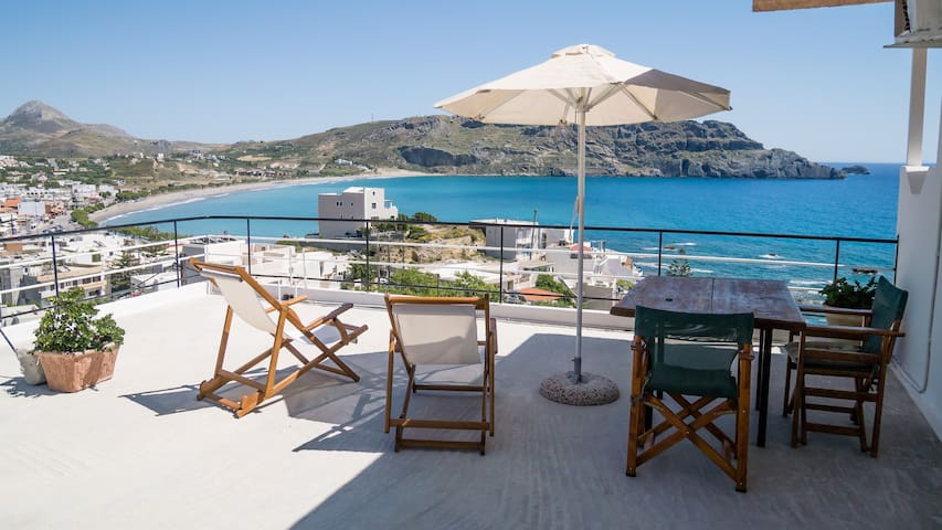 Penthouse Double Studio with terrace in Plakias.