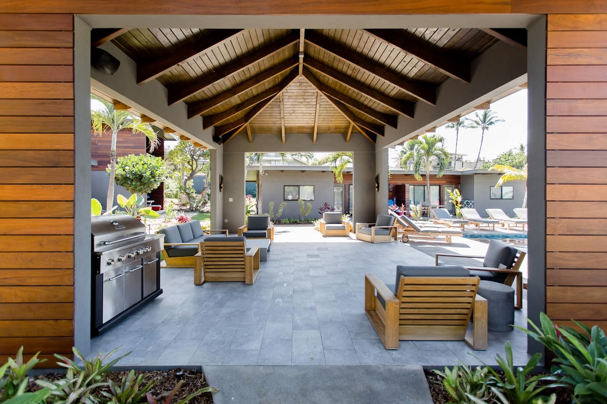 Dreamy Indoor-Outdoor Living Opposite a Sandy Beach