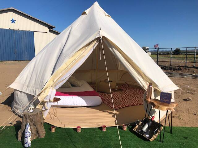 Glampy camping