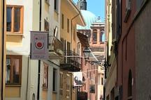 Stunning old streets of Dogliani