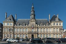 Hotel de ville de Reims