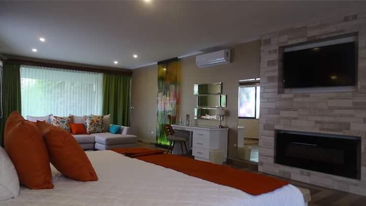 Suite Presidencial con Jacuzzi Hotel Medrano