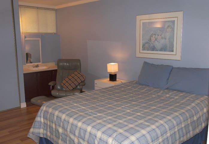Logement 2 chambres + salon pour temps des fêtes