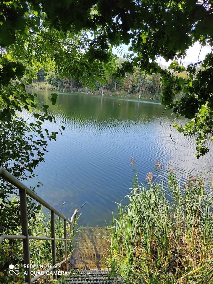 Urlaub am Schachtsee im Herzen von Deutschland