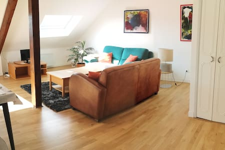 Appartement spacieux  67 m2 :  2 chambres