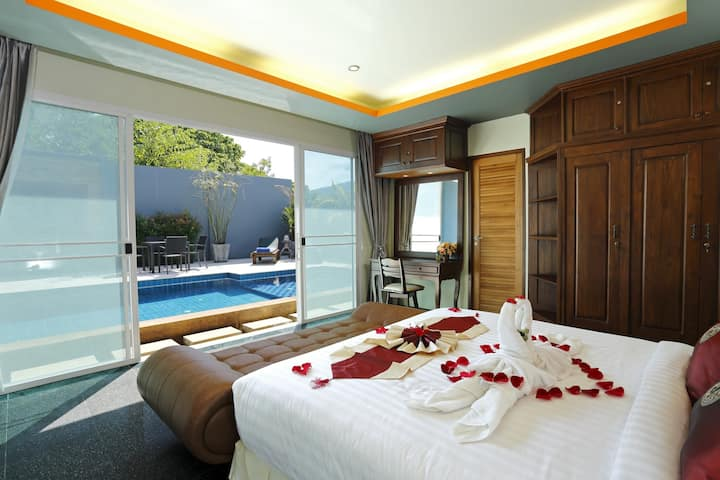 2 Bedrooms Private Pool Villa #6 with Sun Lounge