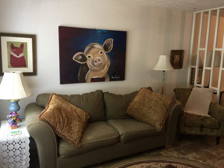 Vaughan's Place-Clean,Quiet,Quirky,Comfy
