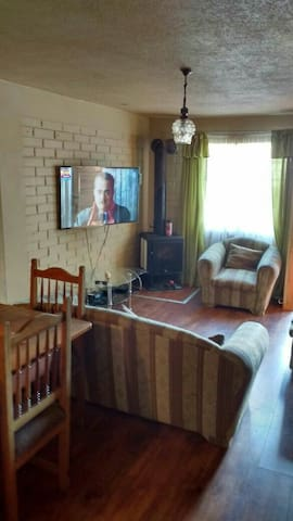 habitación completa, Cama 2 pazas con tv,ropero... - Valdivia - Leilighet