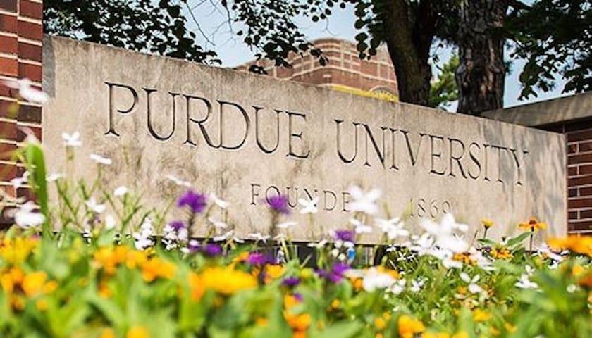 Purdue University Studio! Go Boilermakers!