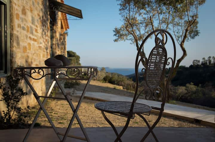Afentiko Pigadi - Villa with Sea View