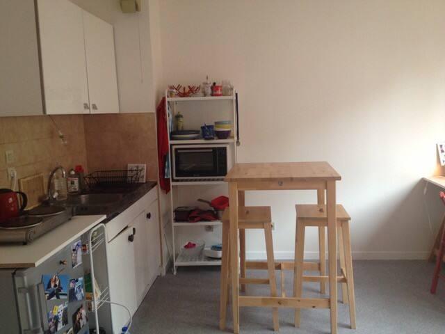 Studio meublé à Chambéry proche de la gare - Chambéry - Appartement