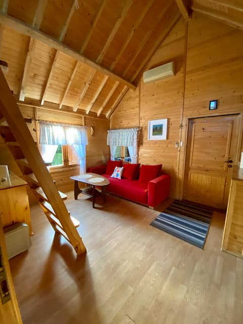 Verde Land - Drewniany domek na wsi