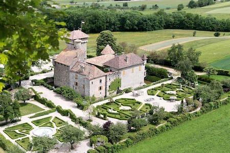 Nuit de rêve dans un château médiéval - Fessy - Kastil
