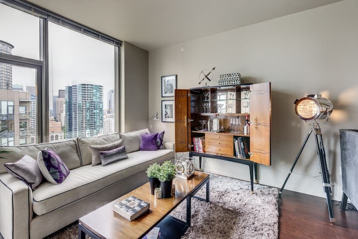 Live + Work + Stay + Easy | 1BR in Seattle
