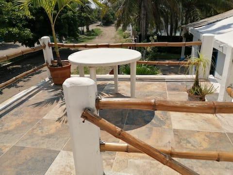 Habitaciones privadas a unos pasos de la playa