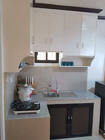 StudioTypeApartment only 7 mins from General Luna!