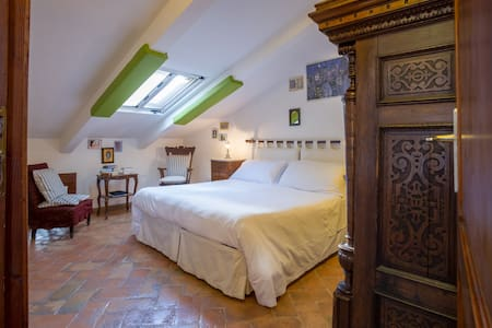Attic room with external private bathroom - Orvieto - Wohnung