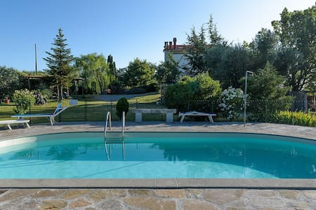 ROSA: Apartments with pool - Castel del Piano Montenero d'Orcia - Apartamento