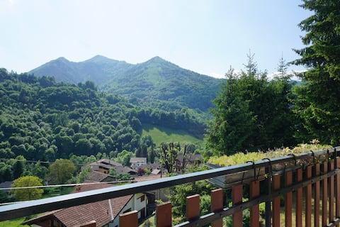 Grazioso e tranquillo in Serina (Valle Brembana)