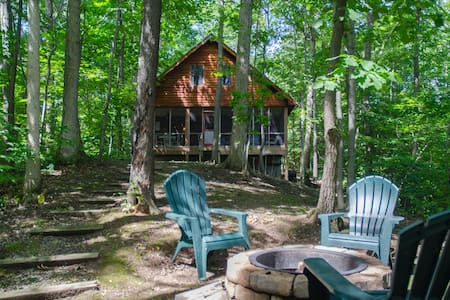 Cozy, quiet cabin on Seneca Lake - Penn Yan - Blockhütte