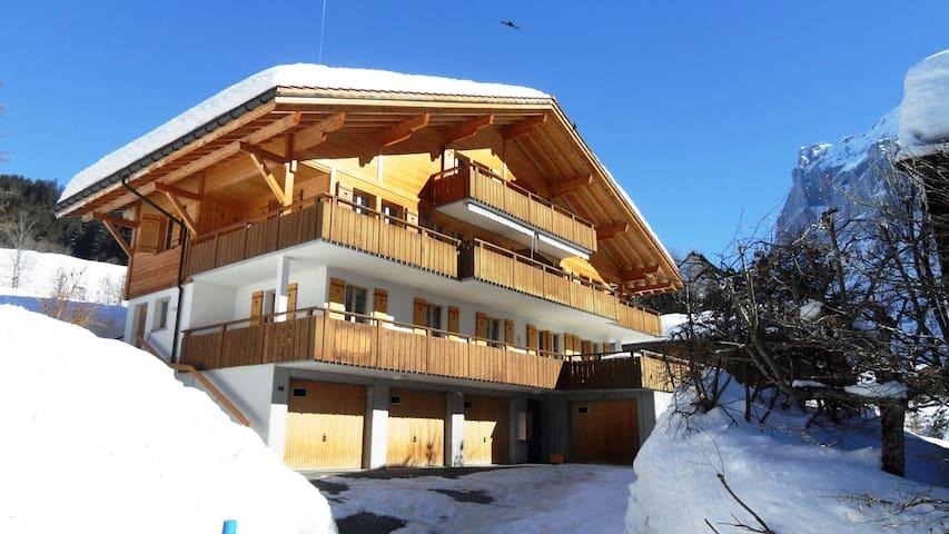 Apartment Alpin Dachgeschoss - Grindelwald - Wohnung