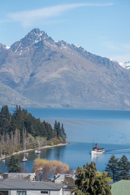 Cecil Peak and Lake Wakatipu