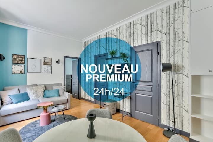 S8-Splendid apartment near Maison de la Radio