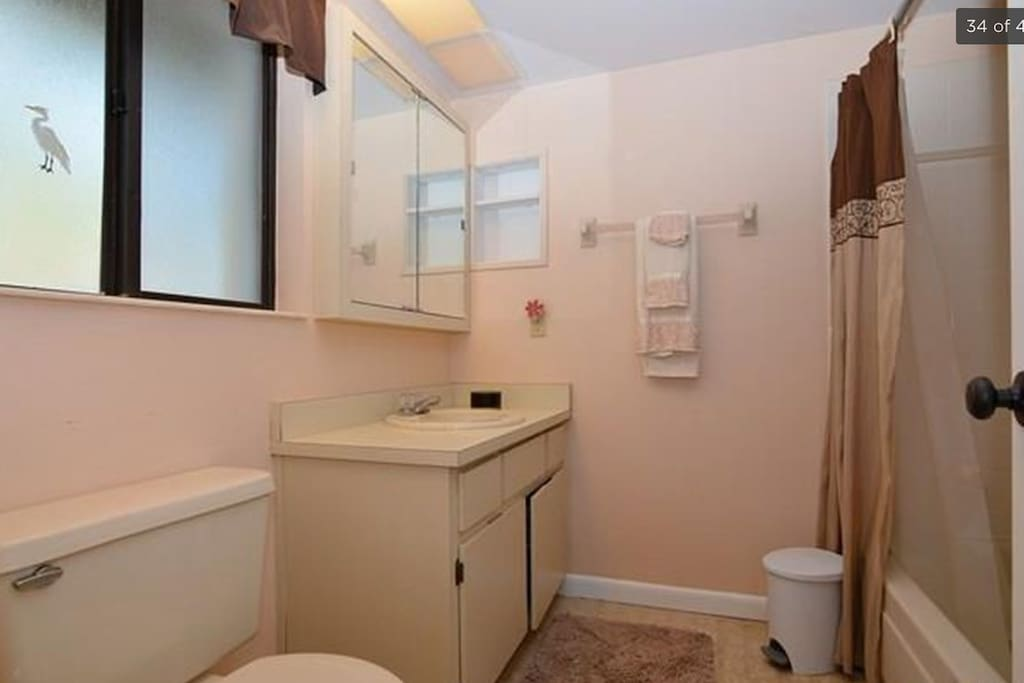 Private bathroom off your bedroom