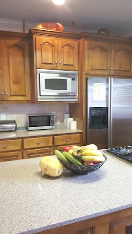 Microwave Available & Refrigerator Space