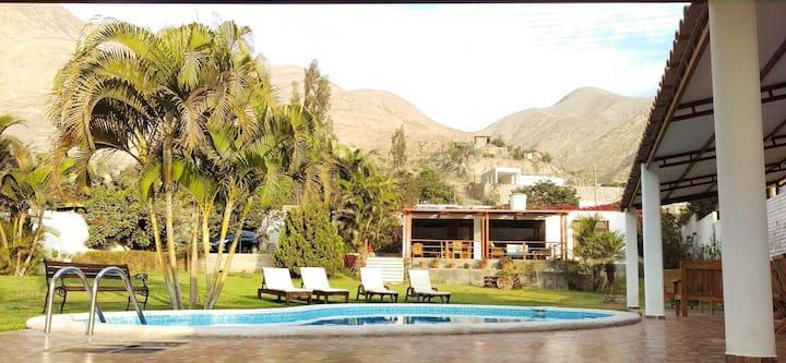 Hermosa Casa de Campo Privada en Cieneguilla