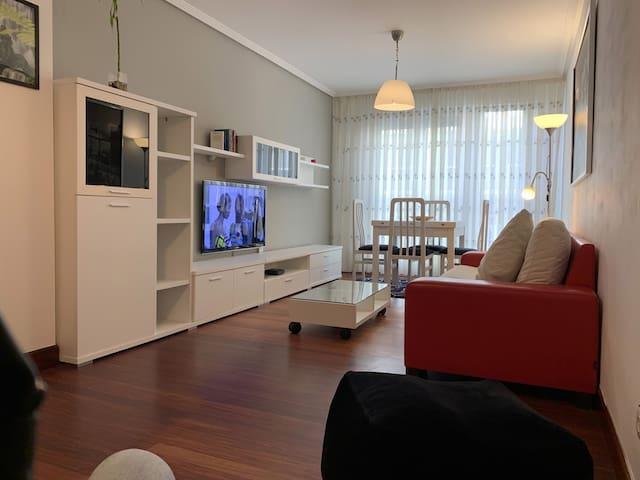 Apartamento Entrecanales Bilbao-Parking free