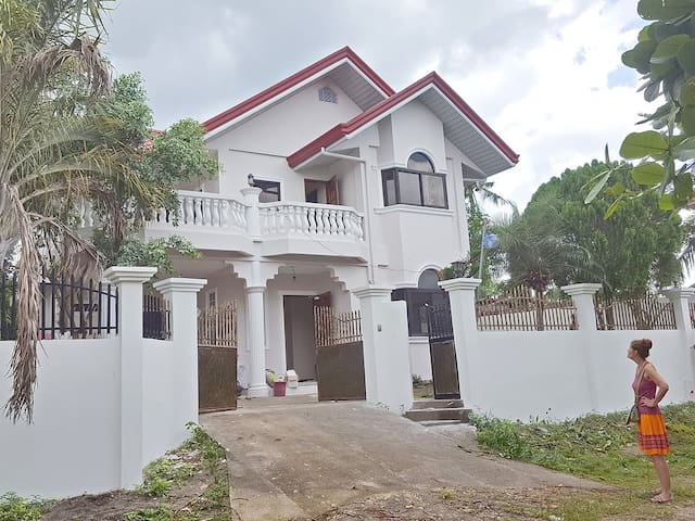 House near the Talisay Beach