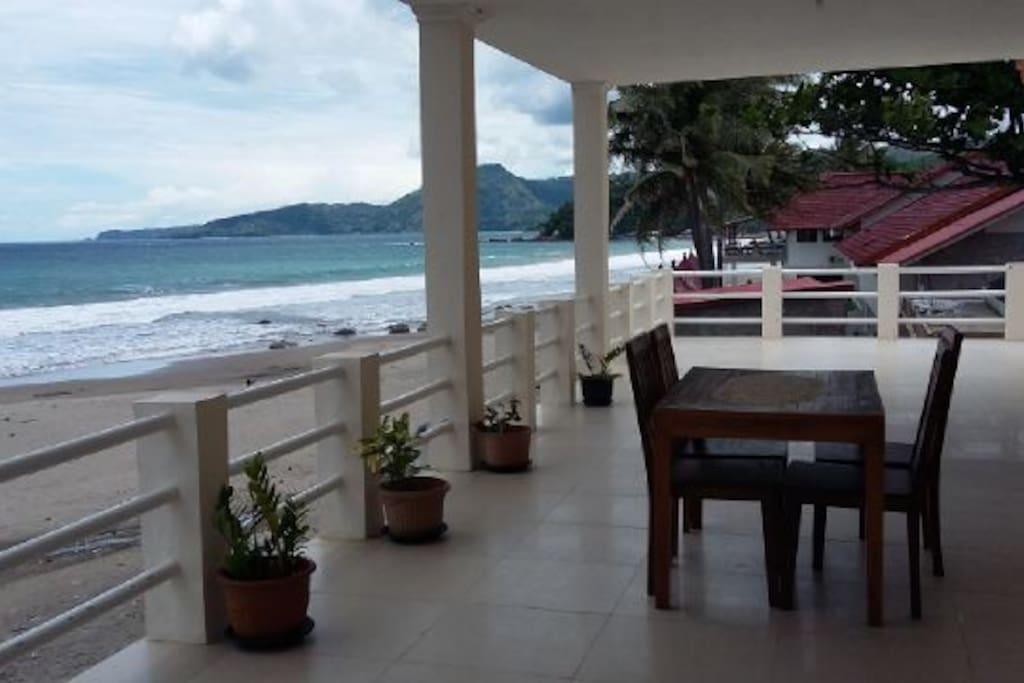 Balkon teras
