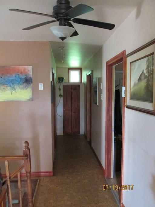 couloir étage supérieur