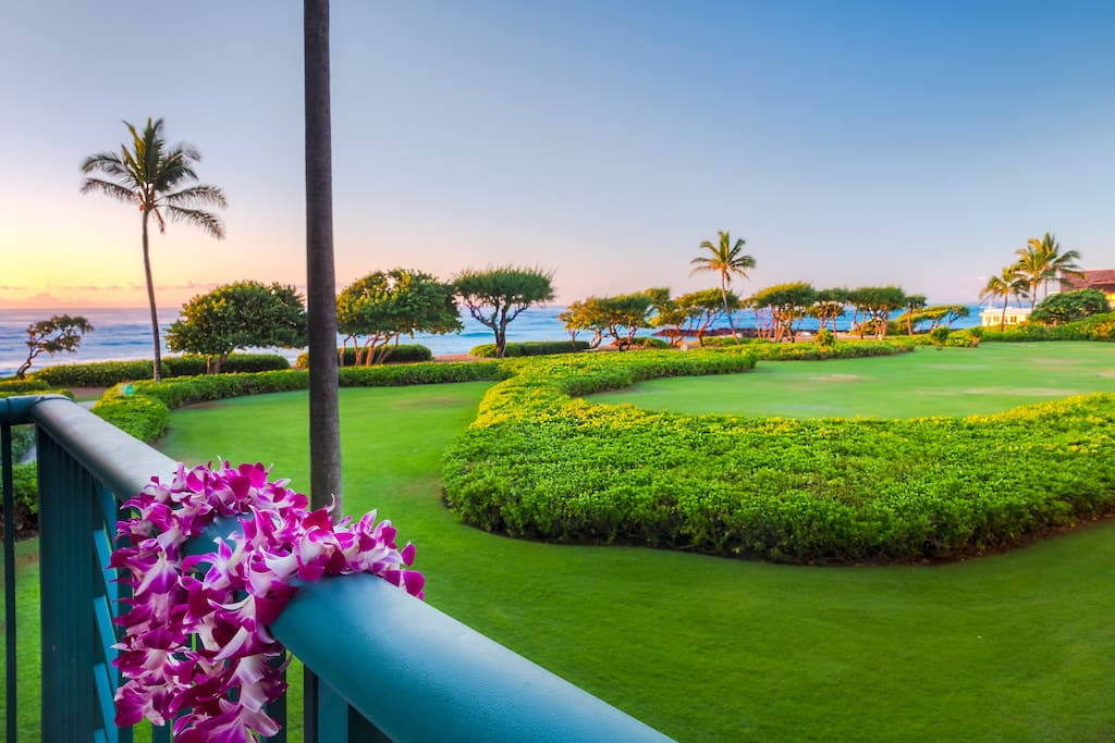 H205, Picturesque ocean view as it's seen from our second floor lanai