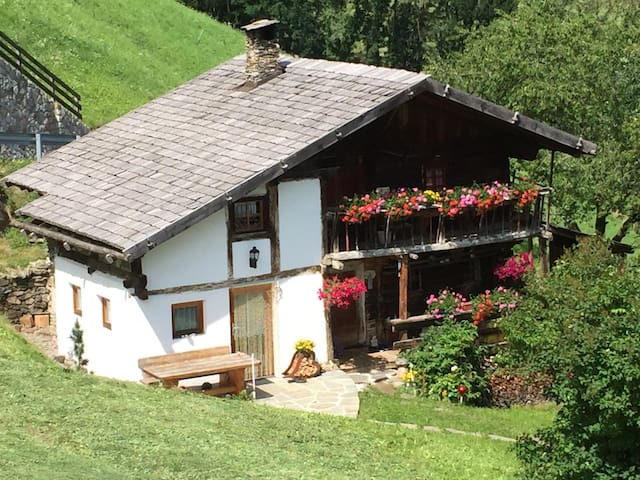 """Holiday Farmhouse """"Weierhof"""" with Mountain View, Terrace & Wi-Fi; Pets Allowed, Parking Available"""