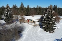 Our Winter Wonderland.  Winter views of our acreage