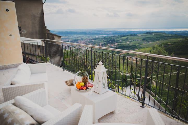 Villa AMAZING view Garda lake