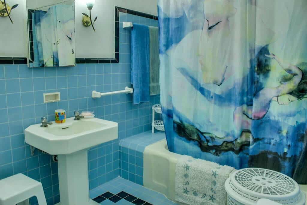 Baño para uso de huéspedes
