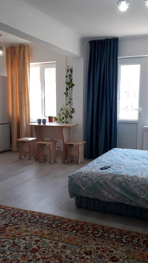 Уютная квартира в тихом дворе по проспекту Абая