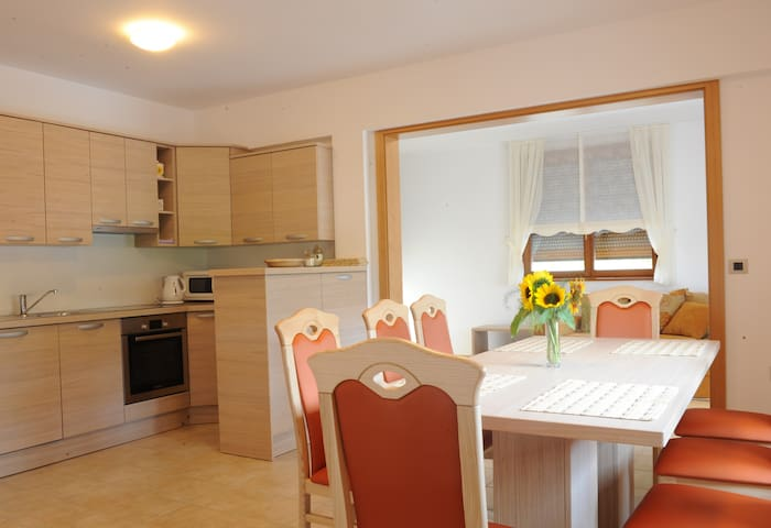 Apartment with Terrace for 9 people - Razdrto - Daire