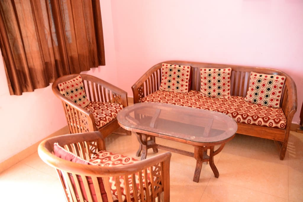 Seating Area with Sofa in Hall