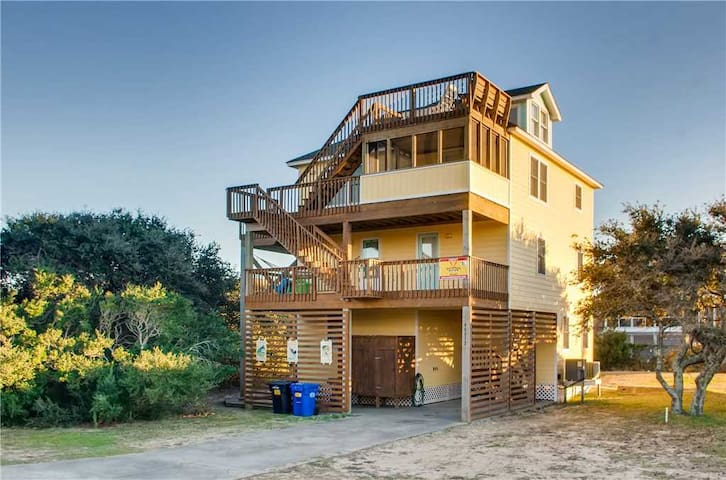 Hatteras Lighthouse View w/ Pool, Hot Tub, Game Rm, Dog-Friendly - 18